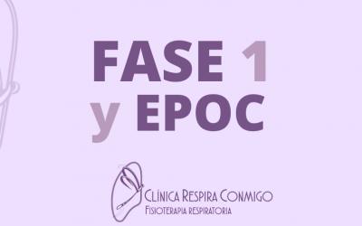 Fase 1 Desconfinamiento ¿Qué puedo hacer si tengo EPOC?